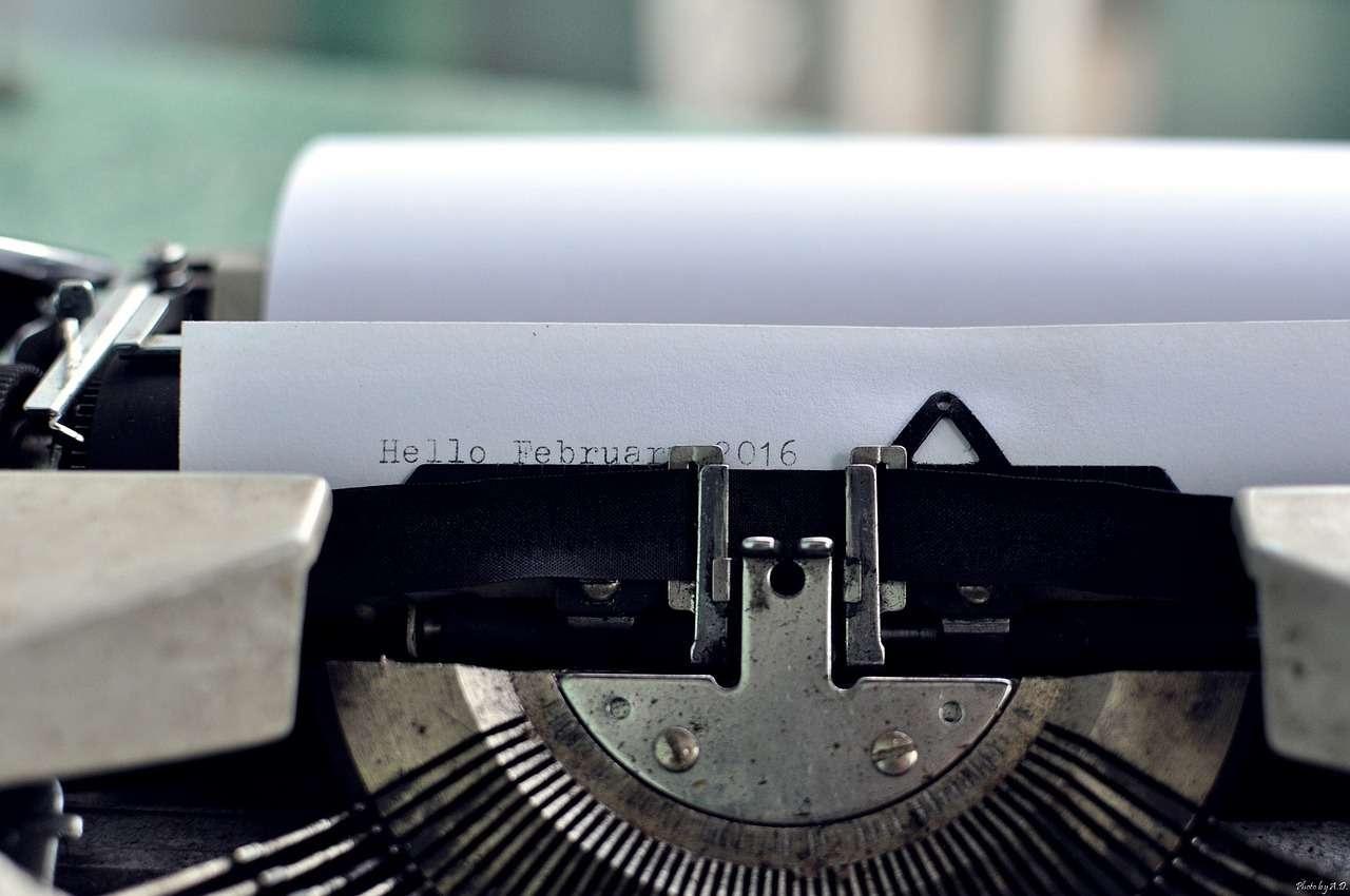 Picabay Typewriter