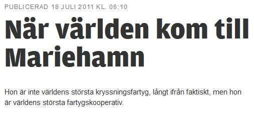 Ålandstidning