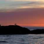Auringonlasku Norjanmerellä