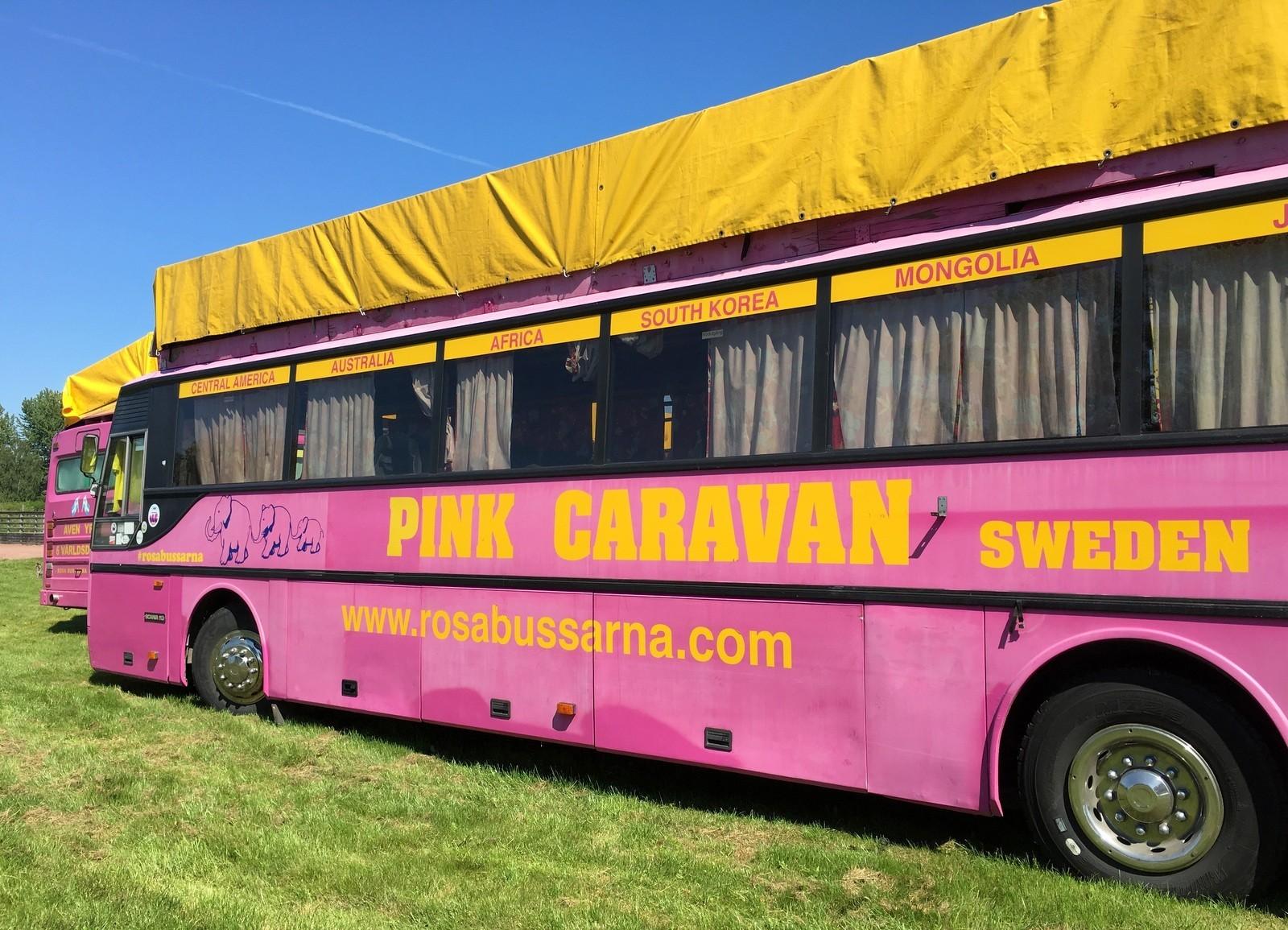 Pink Caravan Eckerö