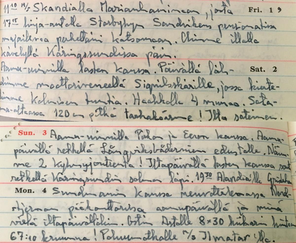 Päiväkirja 1966