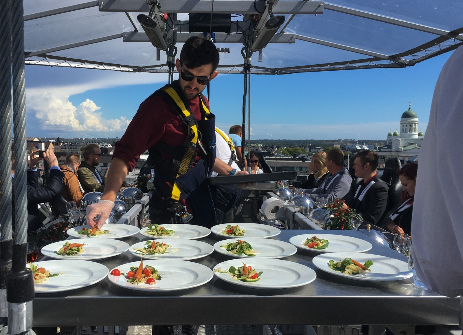 Dinner in the Sky Helsinki