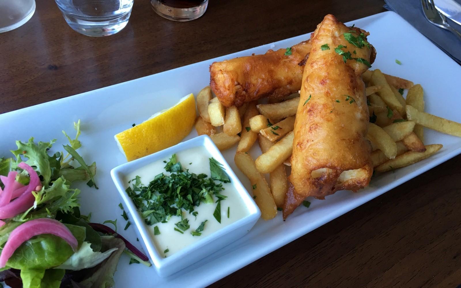 Fish & Chips Fiskekroget