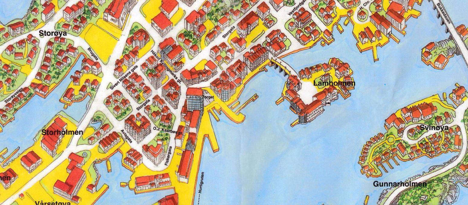 Svolvaer map