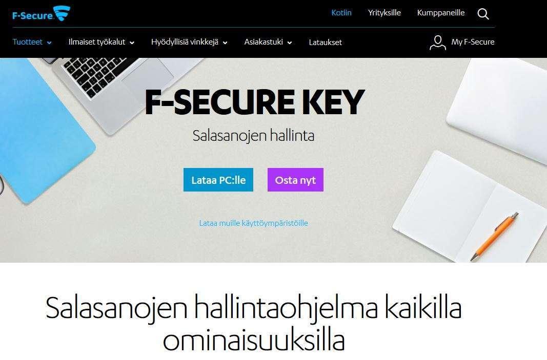 F Secure Key