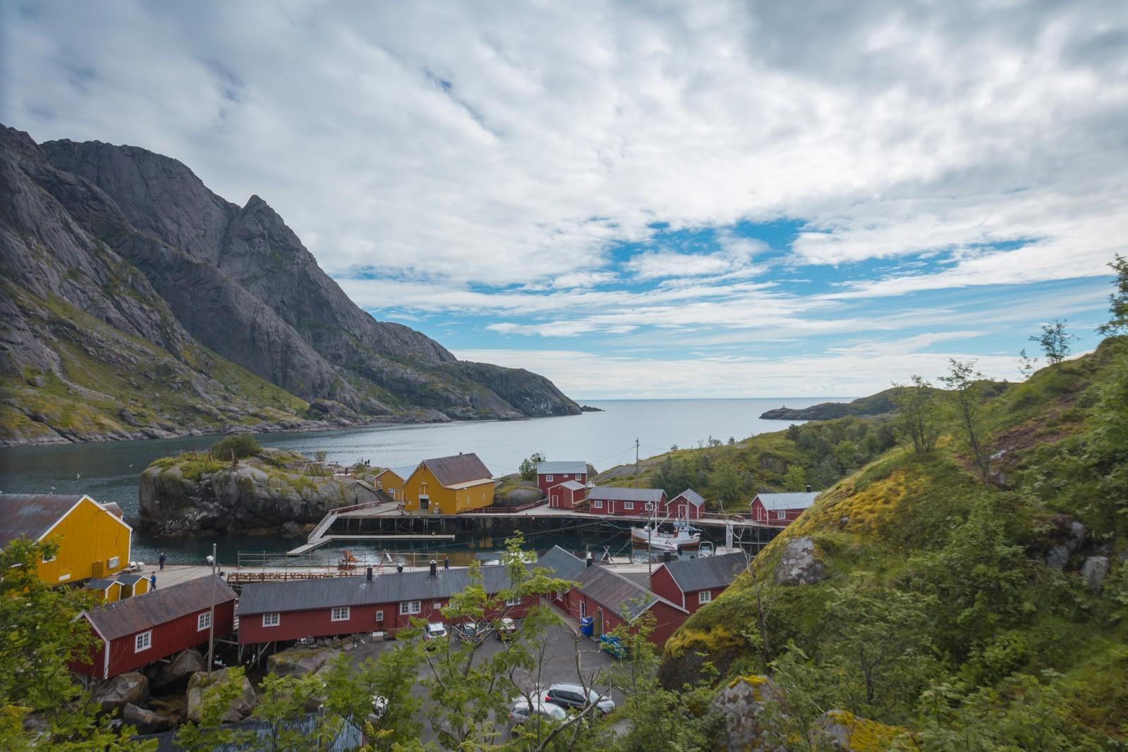 Nusfjord Lofootit