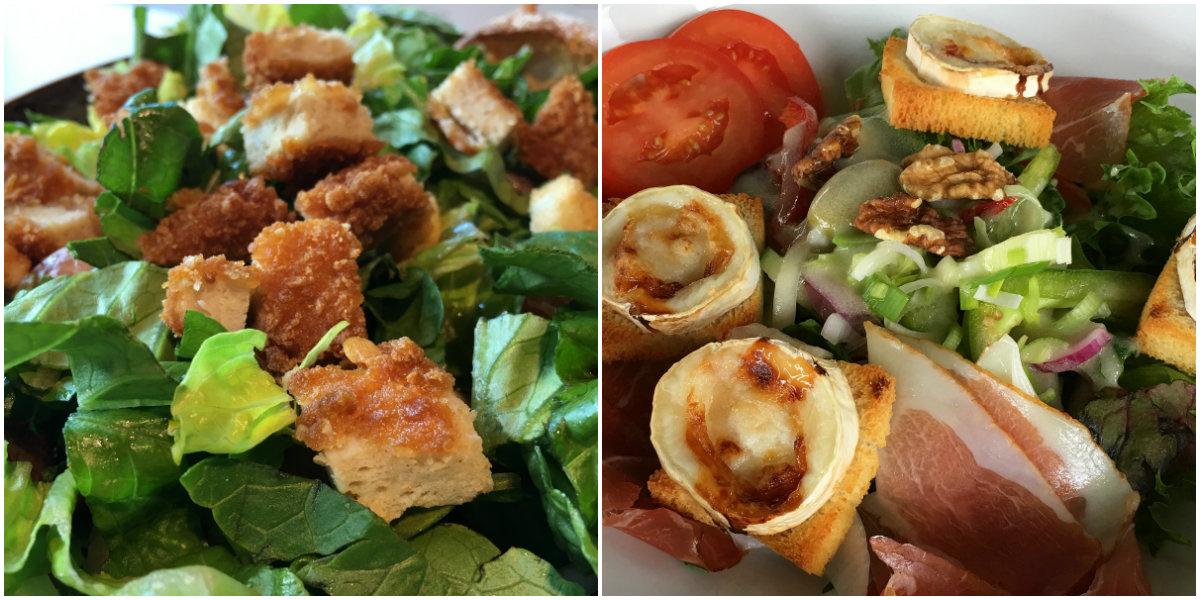 Lofootit, salaatteja