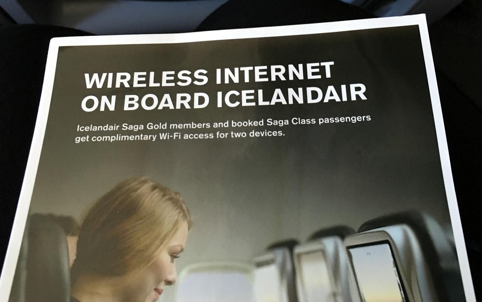 Icelandair Saga Class