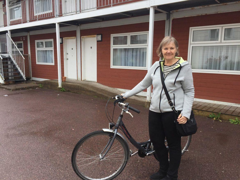 Pyörällä Saint-Pierressä