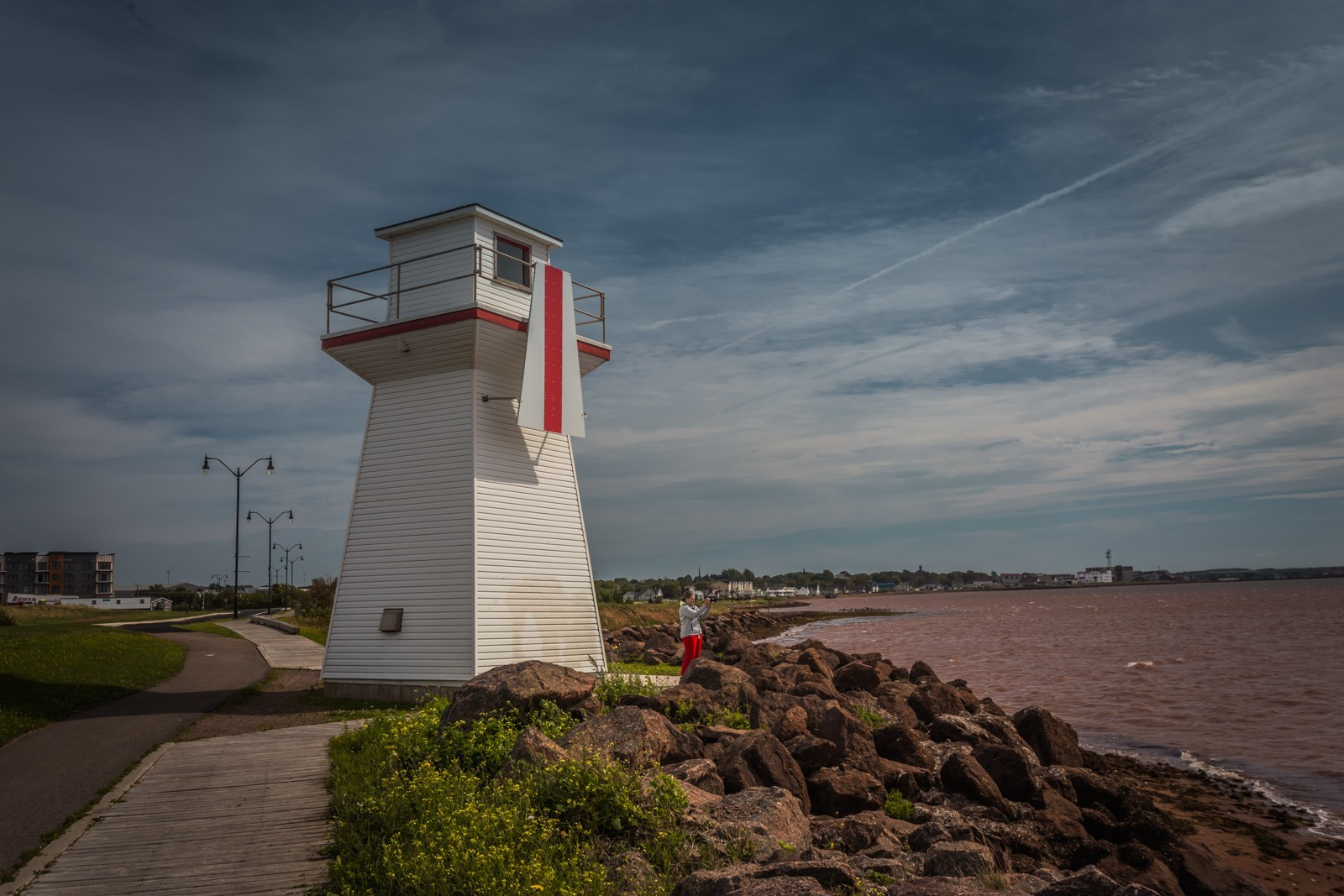 Summerside Outer Range Front lighthouse PEI