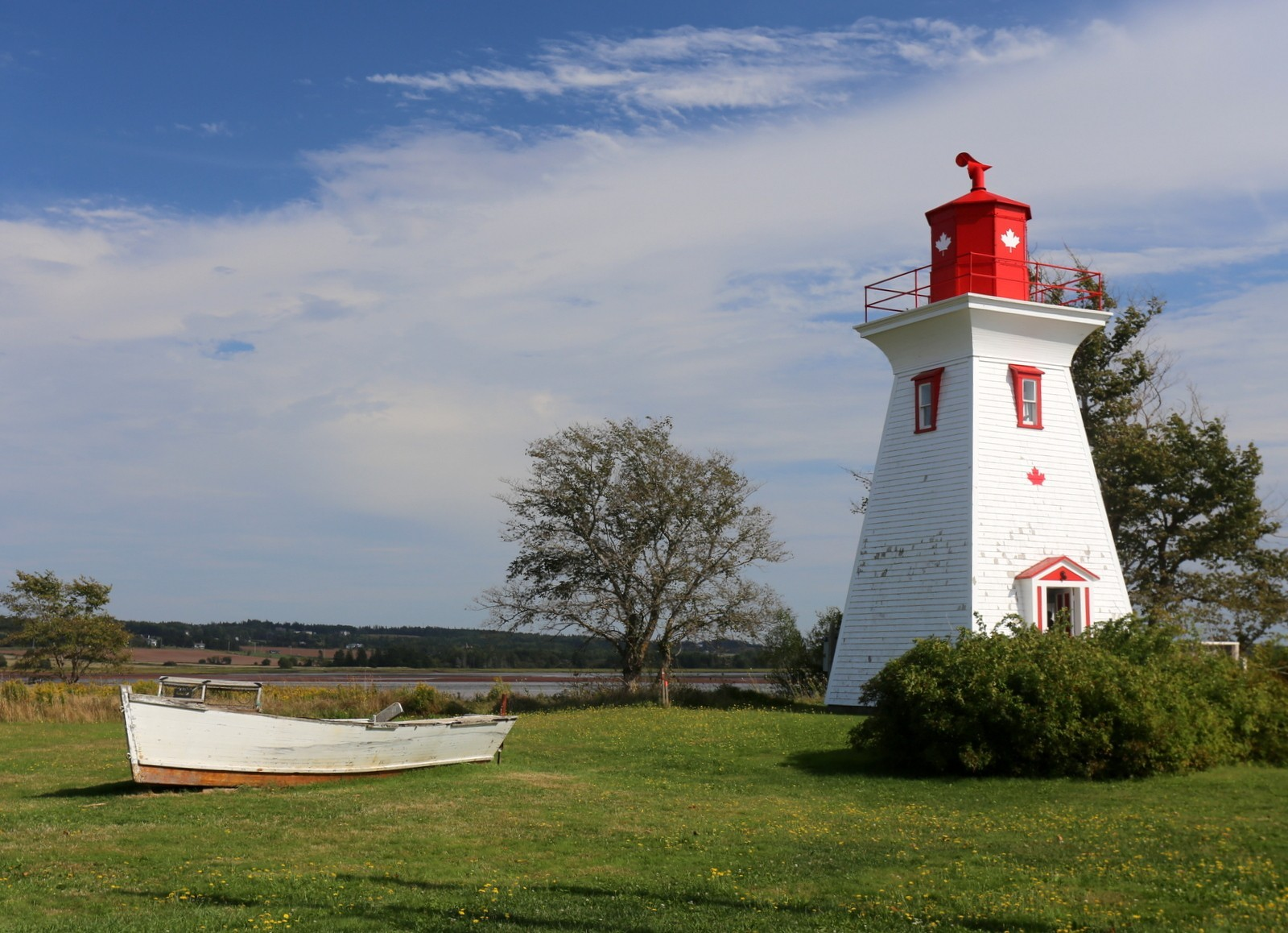 Victoria lighthouse PEI