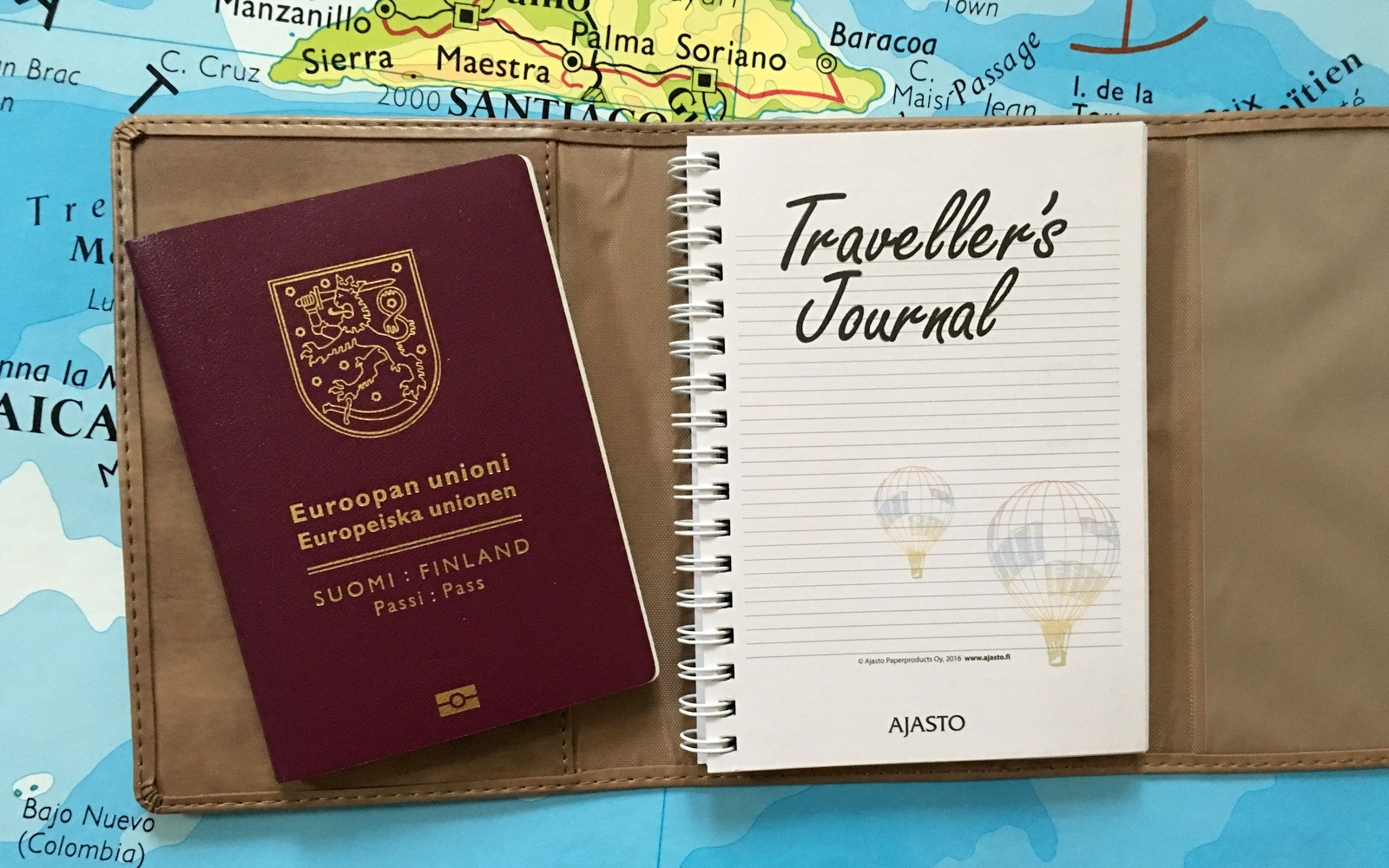 Traveller's Journal Ajasto