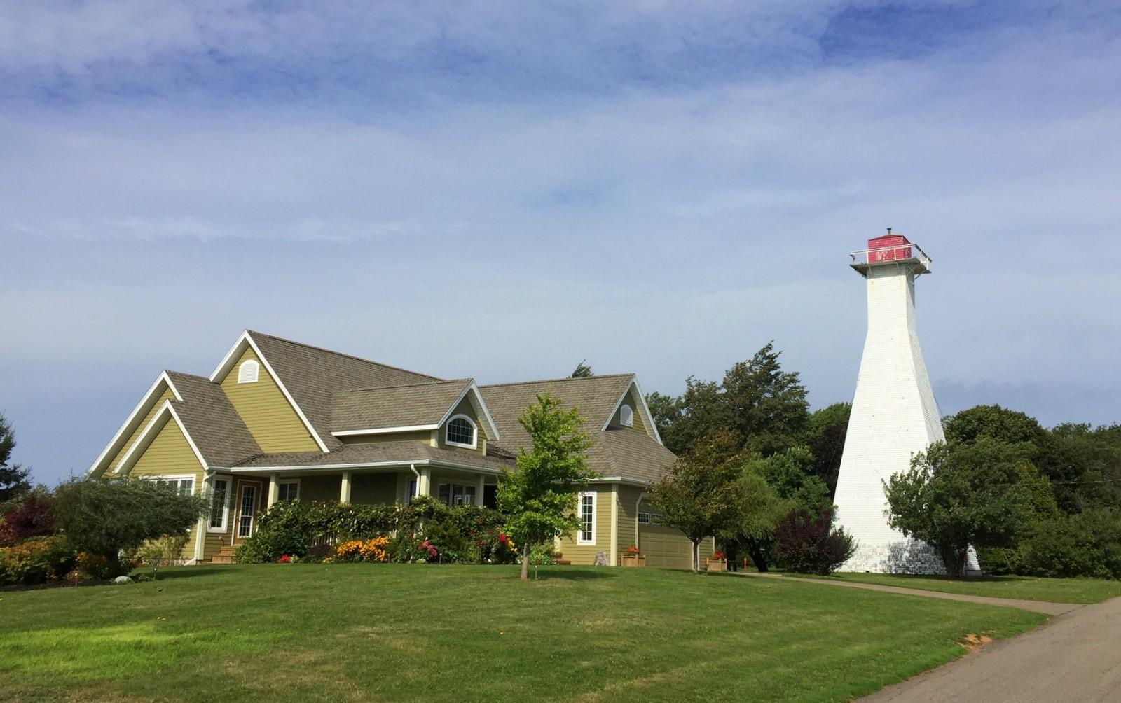 ummerside Range Rear lighthouse PEI
