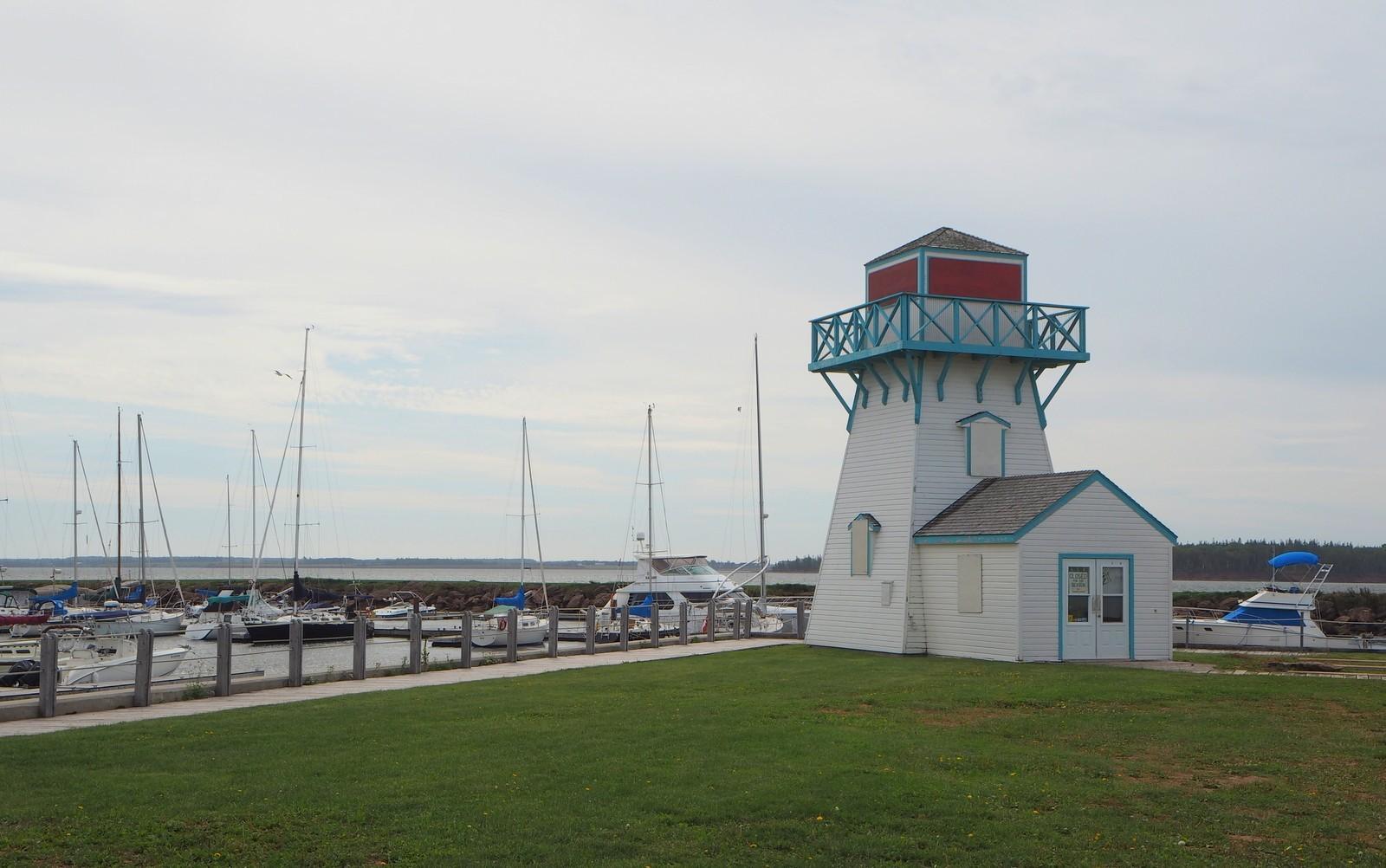 Summerside Spinnaker's Landing lighthouse PEI