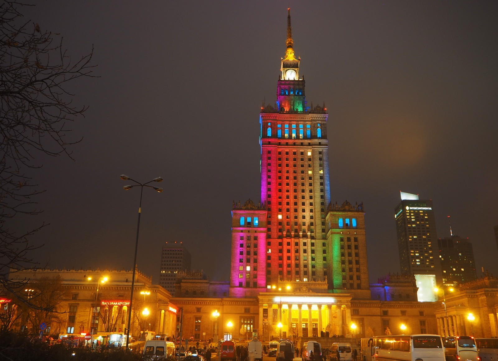 Palace Culture and Science Warsaw Varsova