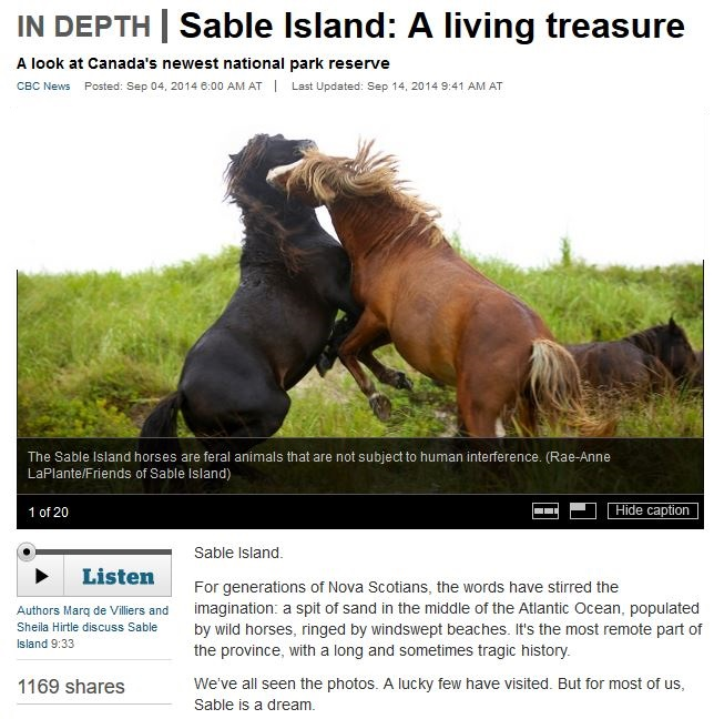 sable island on cbc