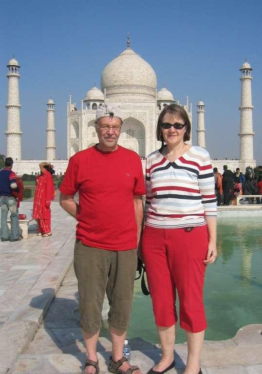 Taj Mahal joulu