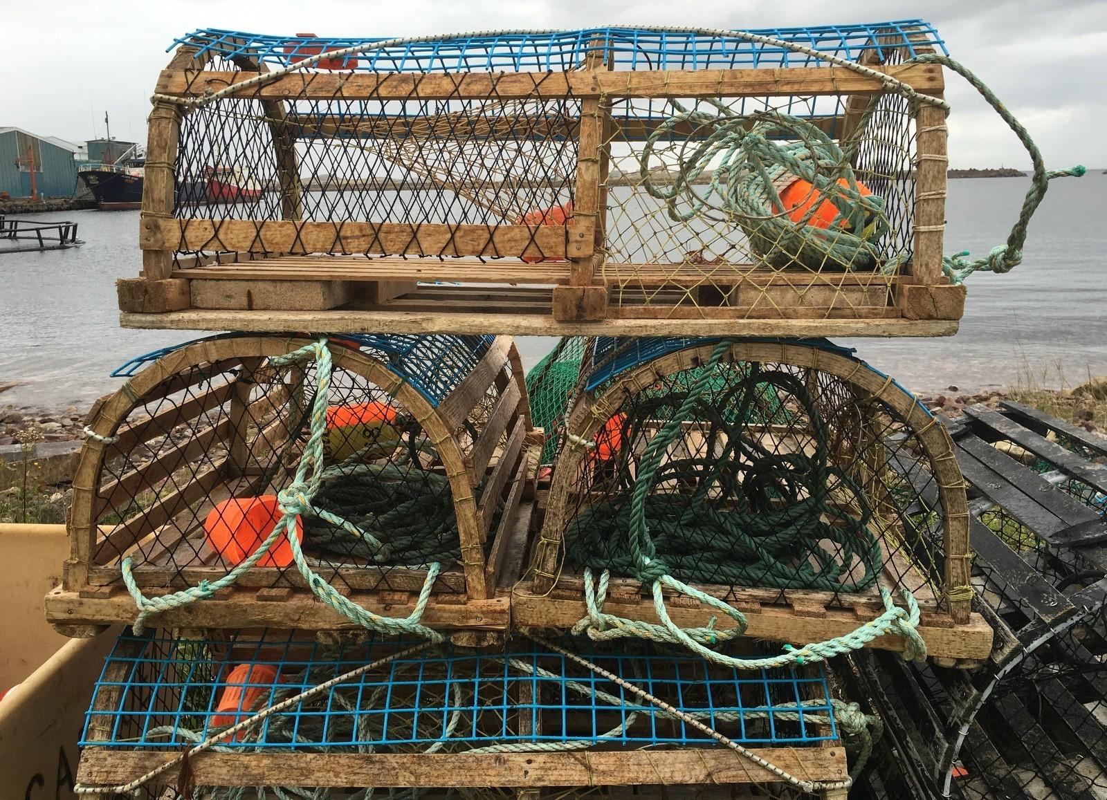 Hummeripyydyksiä St. Pierre et Miquelonilla