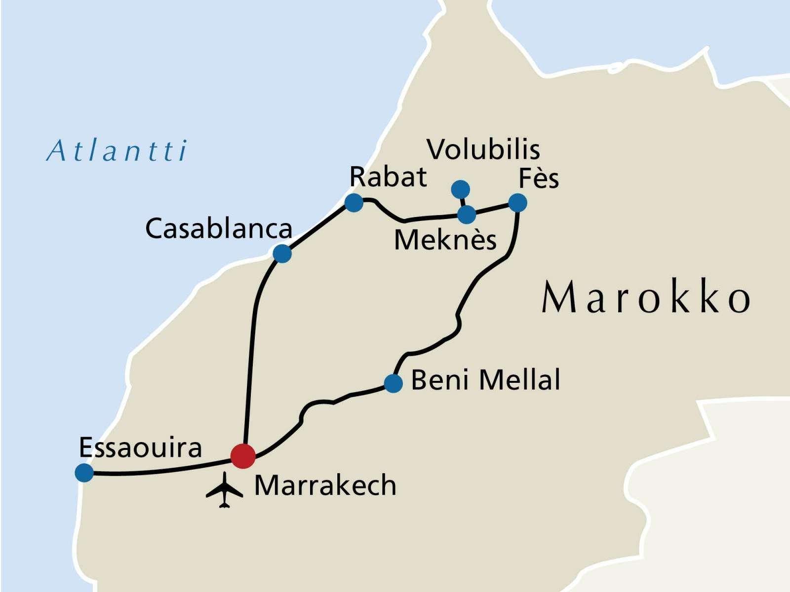 Marokon kiertomatka