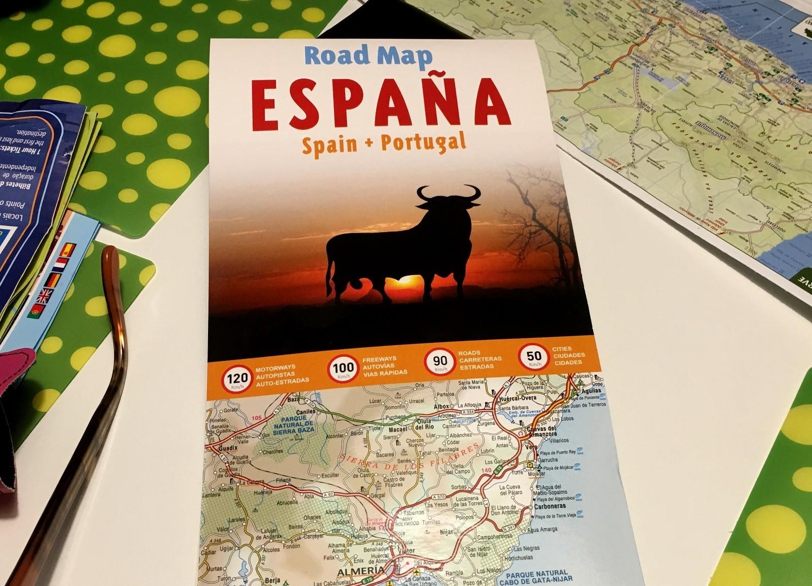 Portugali Espanja kartta