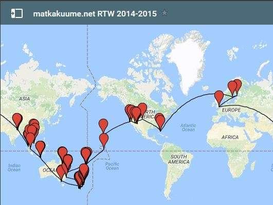 Matkakuume RTW