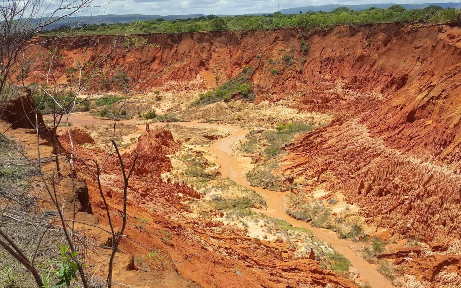 Tsingy Rouge Madagaskar