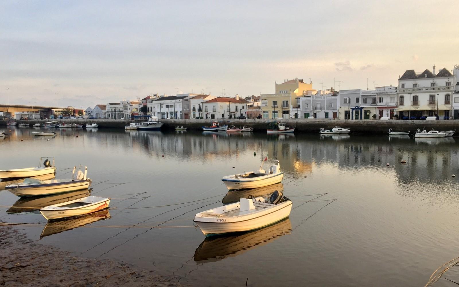 Tavira Gilao-joki Algarve
