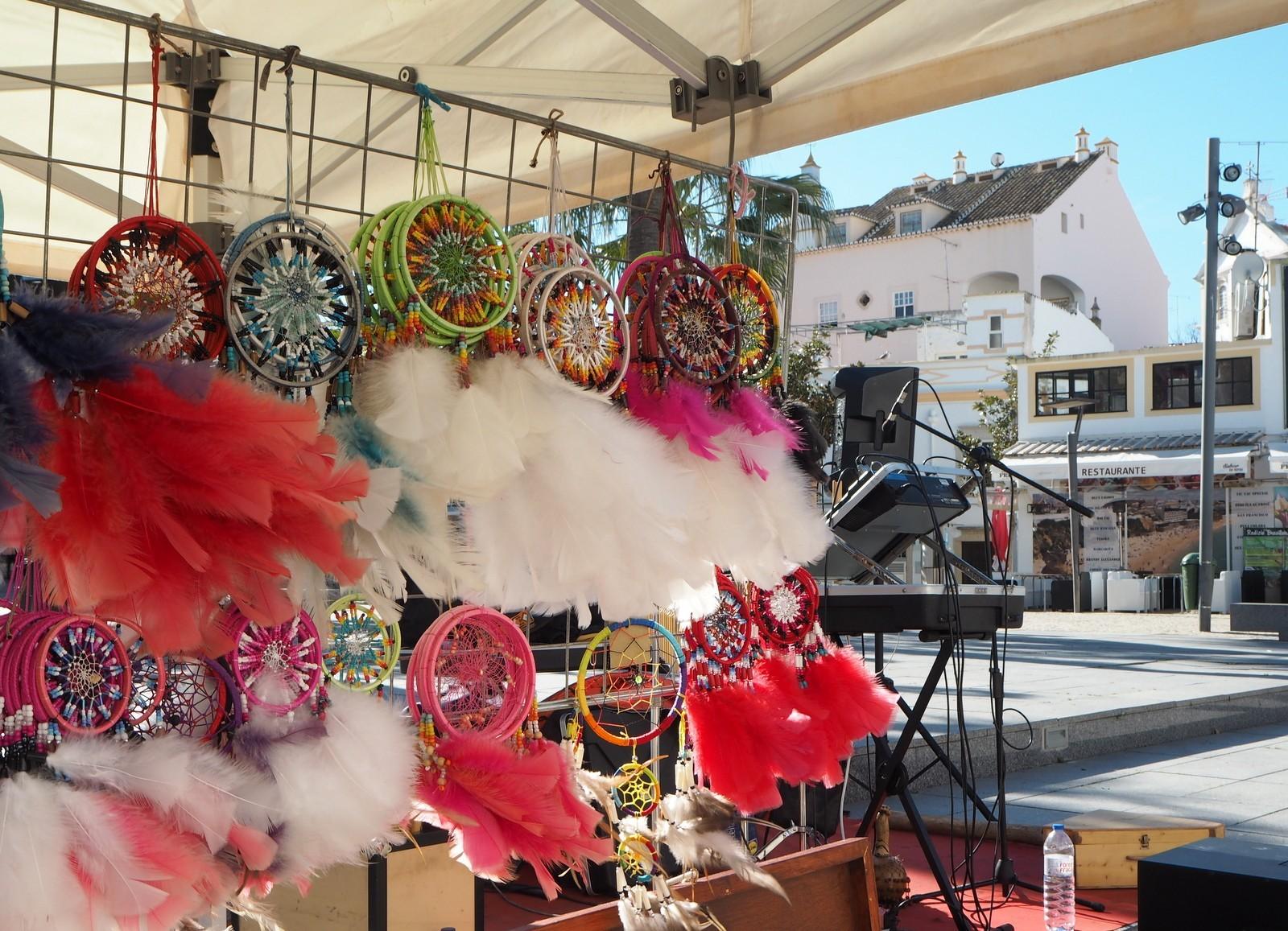 Albufeira vanha kaupunki Algarve