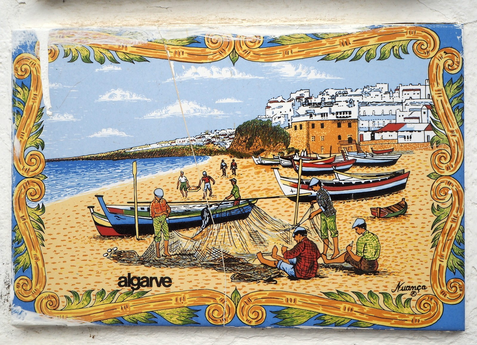 Algarve Portugali kaakeli