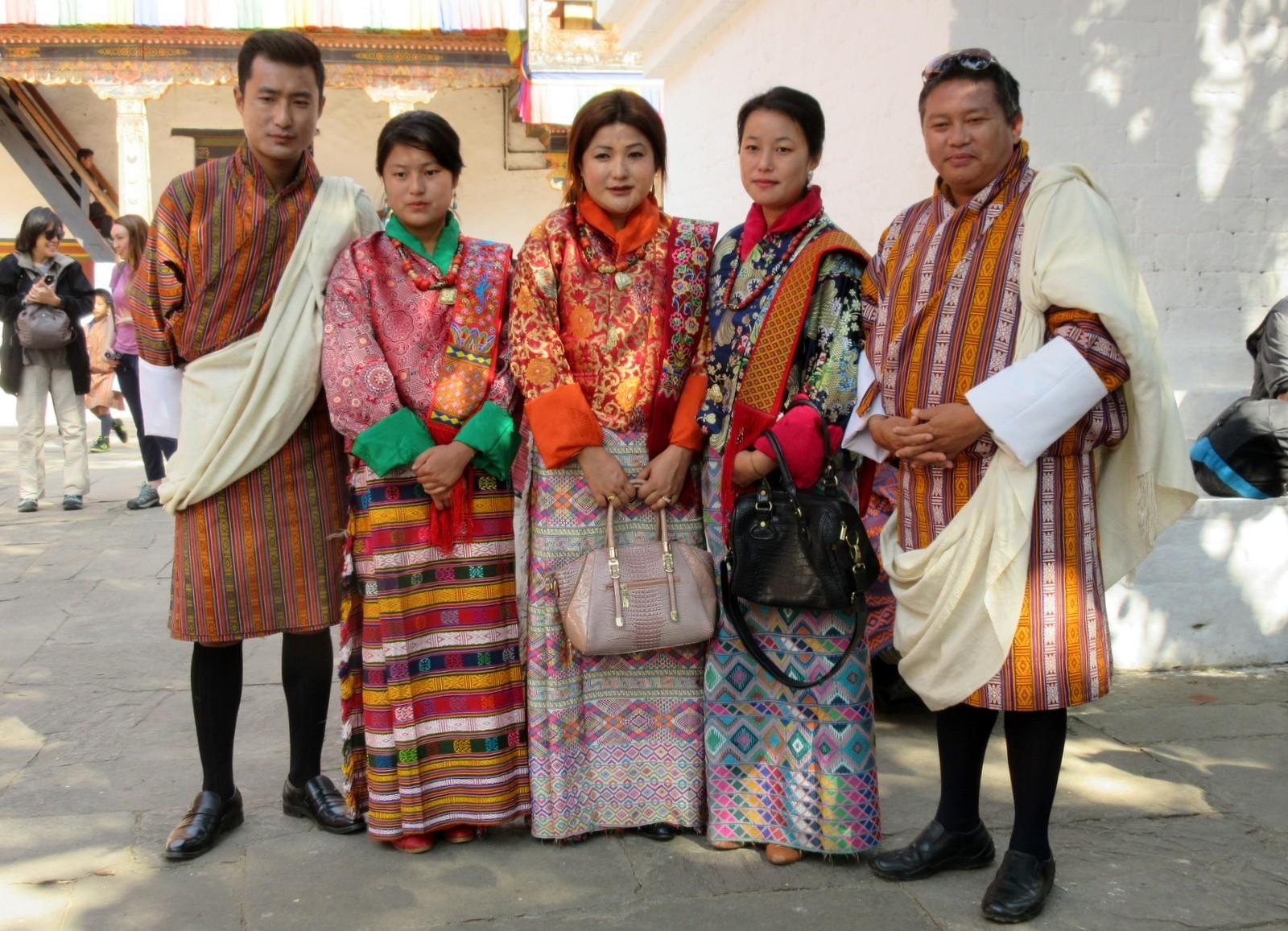 Bhutanilaisia Punakha