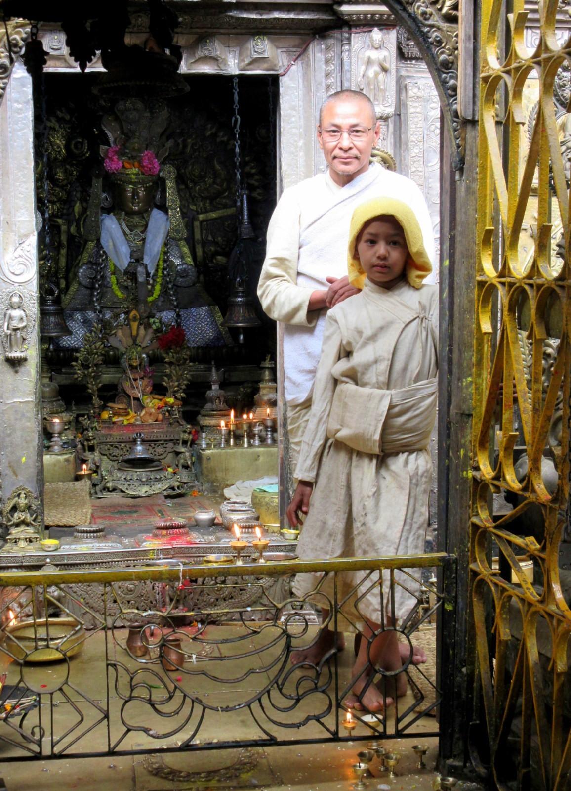 Nepal Patan Kultainen temppeli