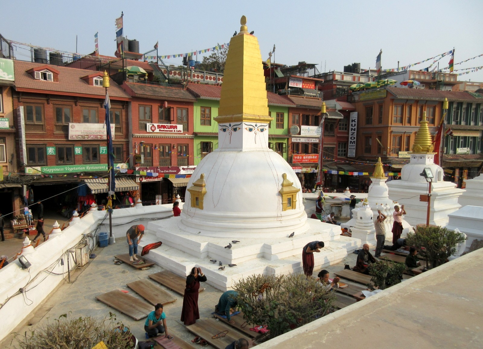 Kathmandu Boudhanathin Stupa