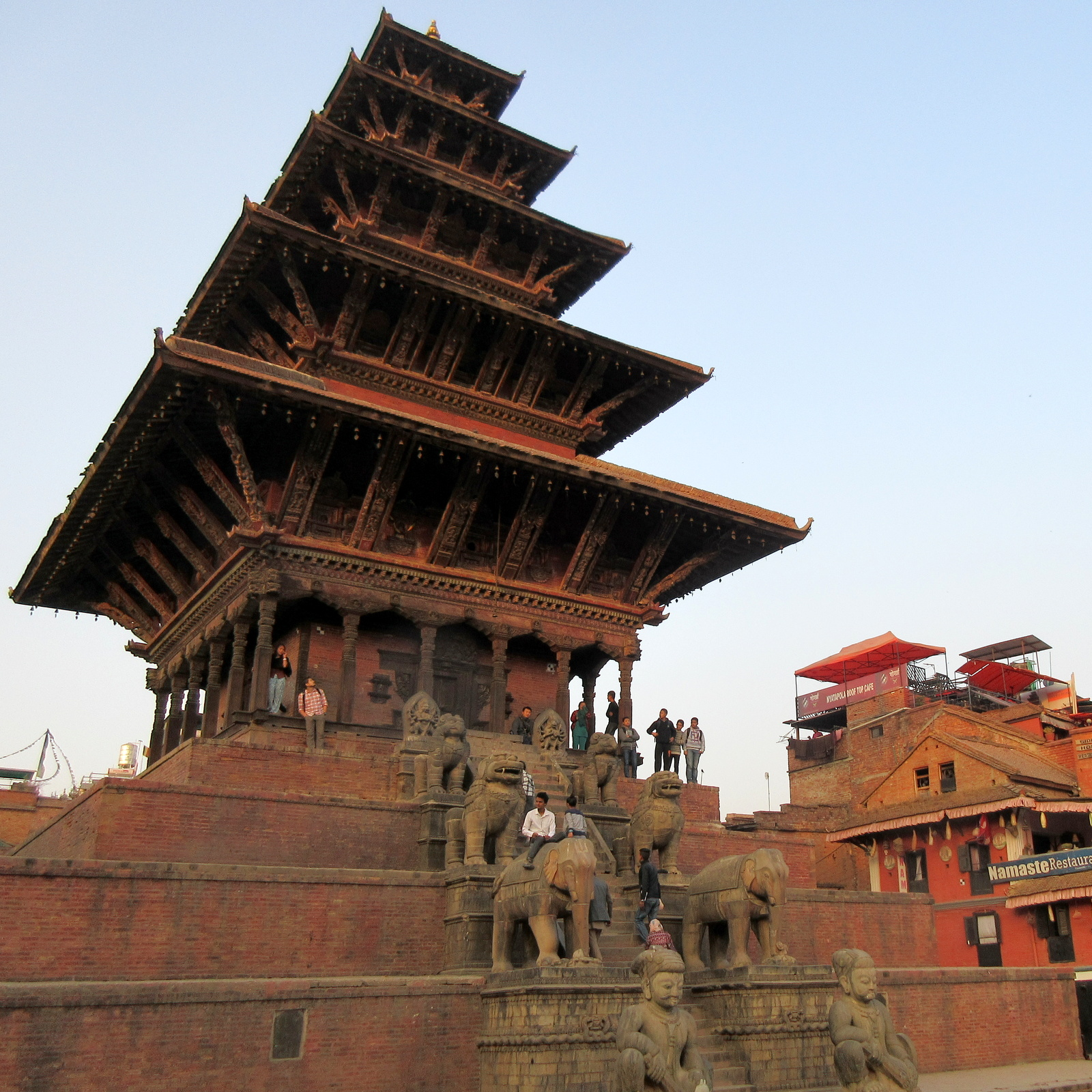 Nepal Bhaktapur Nyatapola