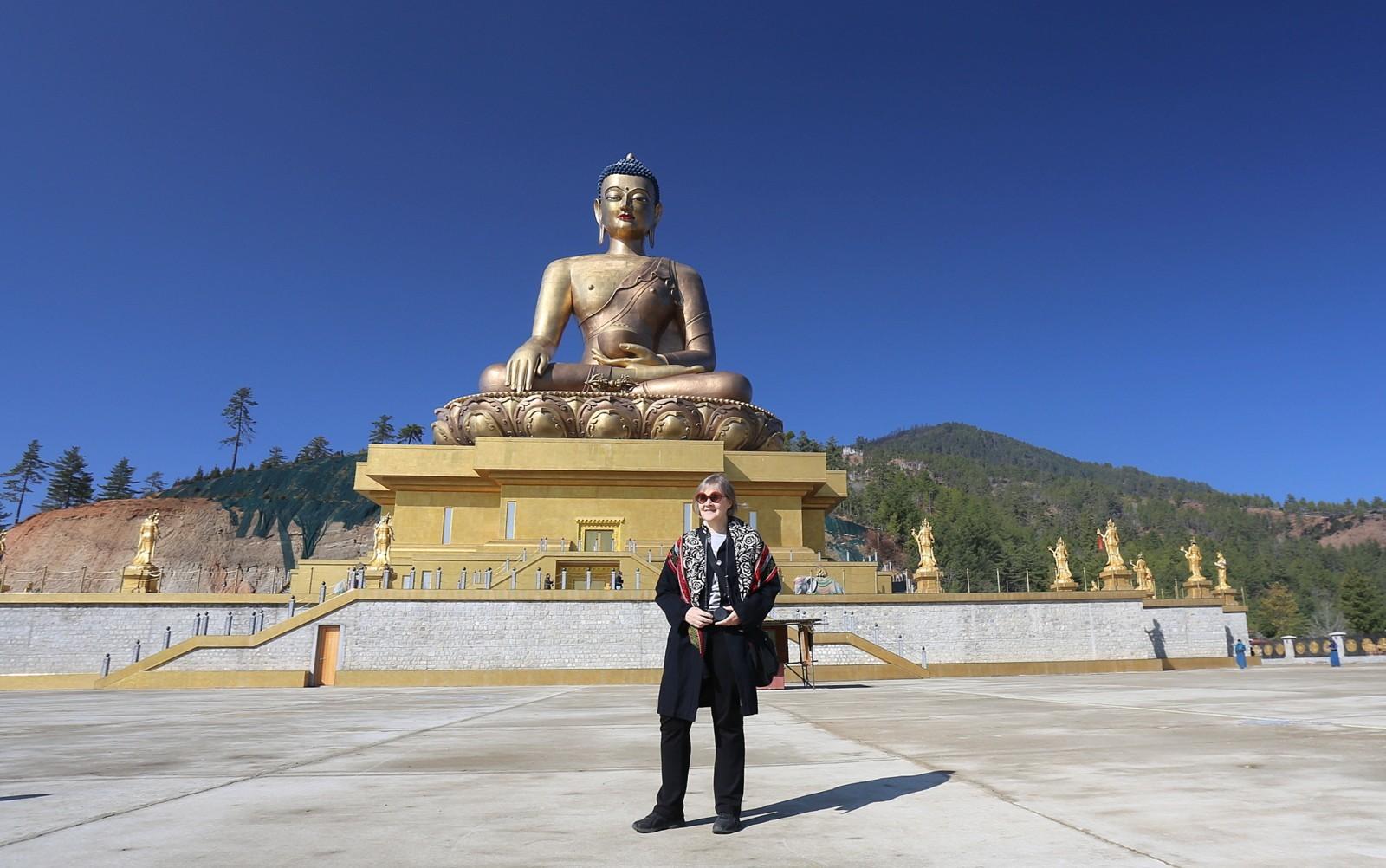 Thimphu buddha turisti
