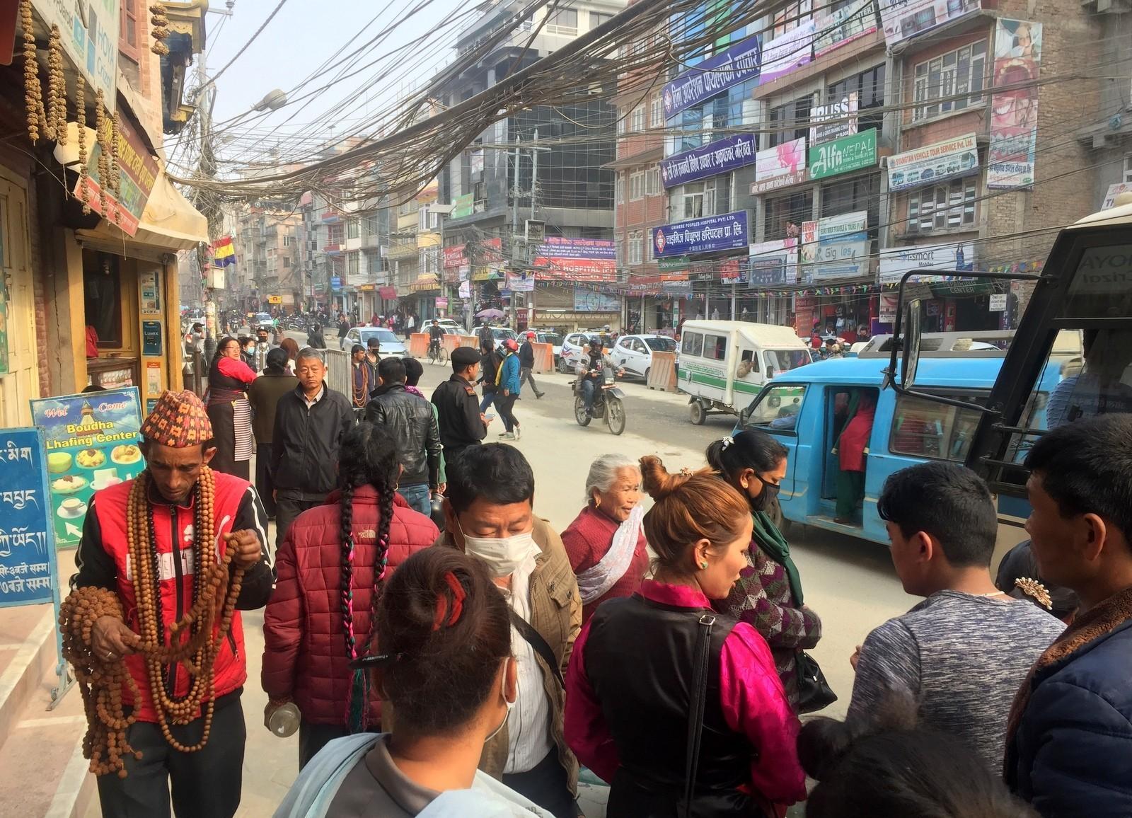 Kathmandu katunäkymiä
