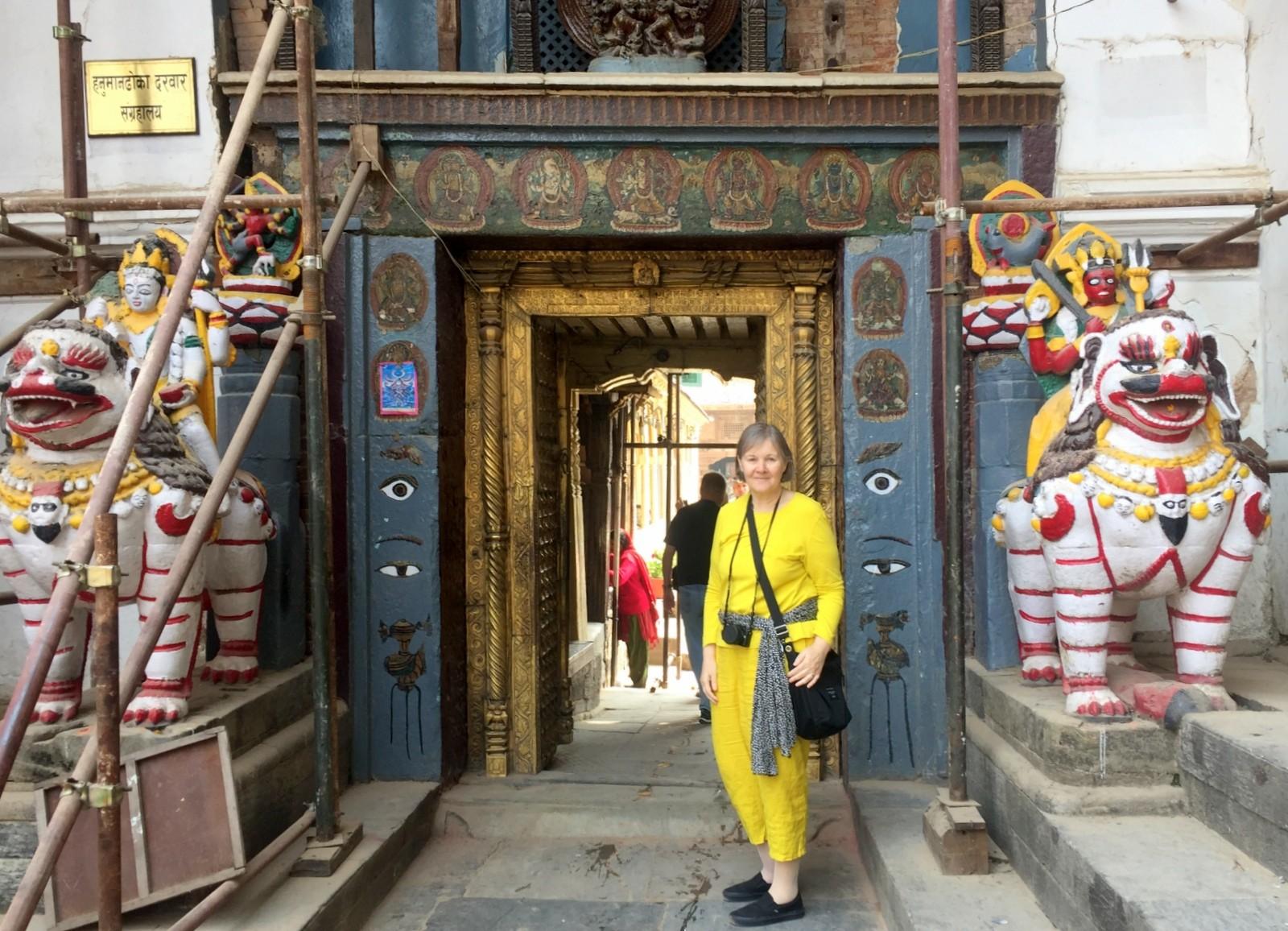 Portti Kathmandu Durbar-aukio