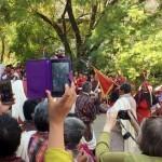 Kansanjuhlaa Punakhan laaksossa