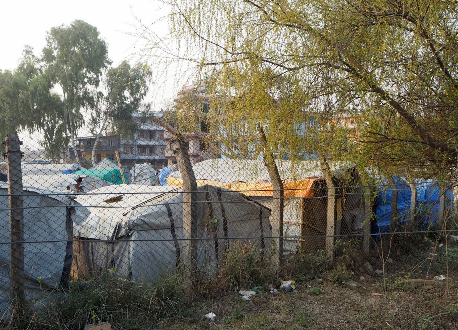 Nepal telttakylä Kathmandu