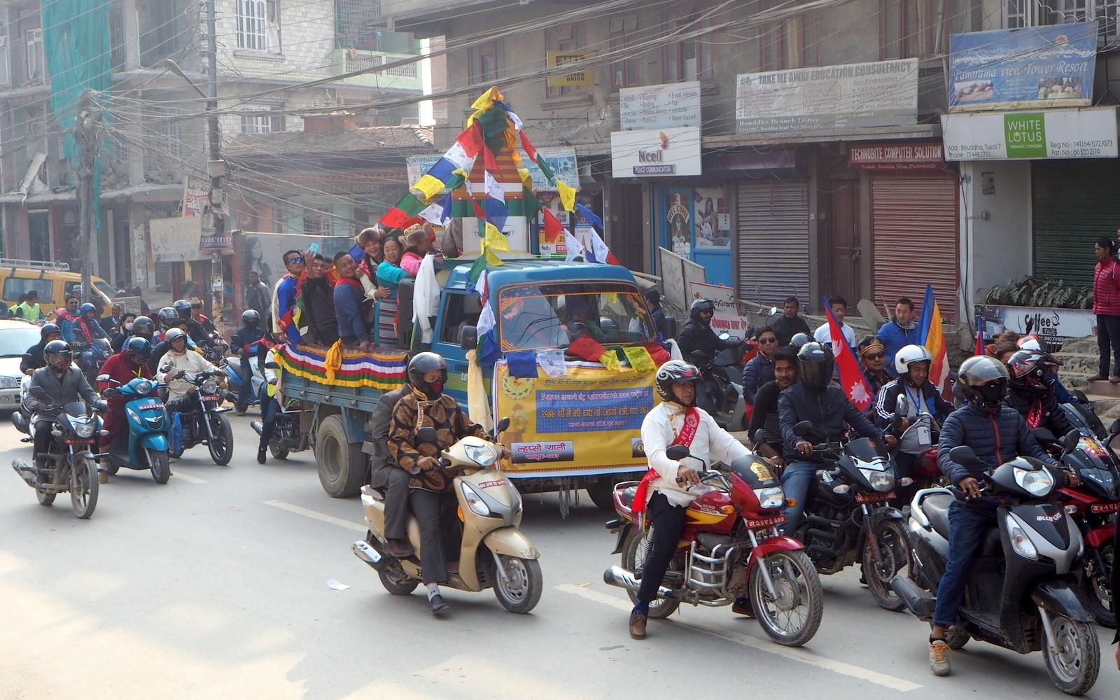 Nepal Kathmandu liikenne