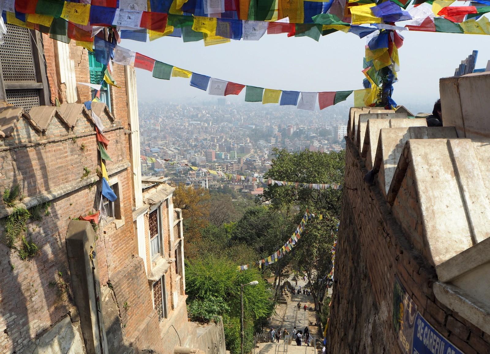 Swayambhunathin Stupa