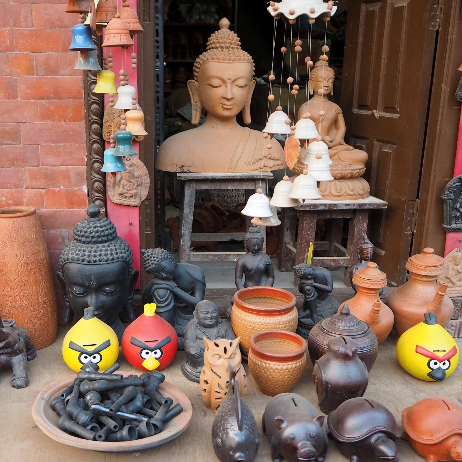 Nepal Bhaktapur Angry Bird