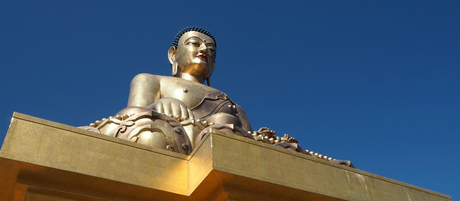 Thimphu buddha feature