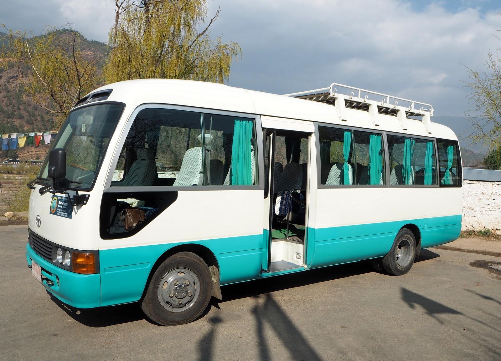 Bussimme Bhutanissa - juttu Bhutan kustannukset