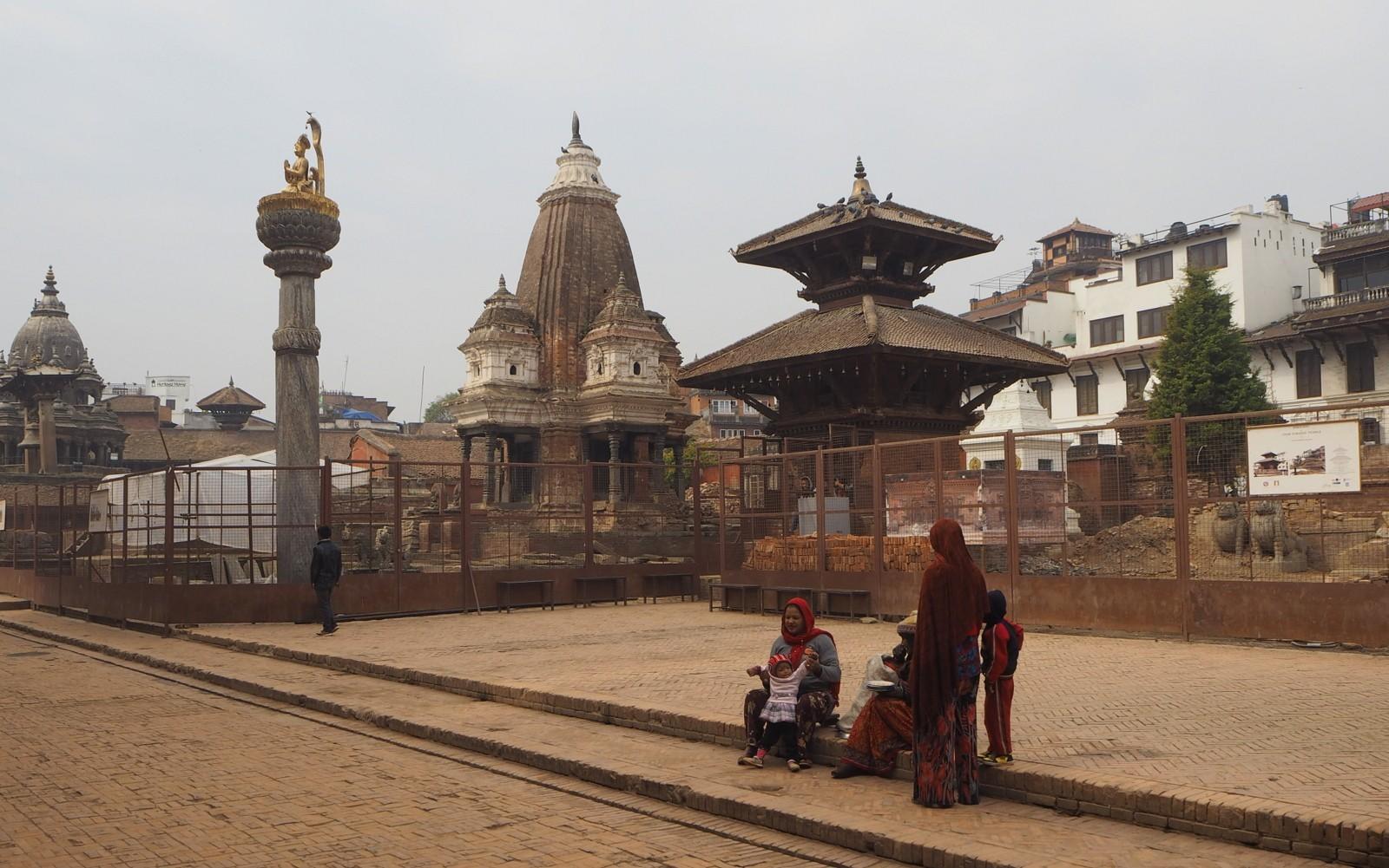 Nepal Patan Durbar-aukio