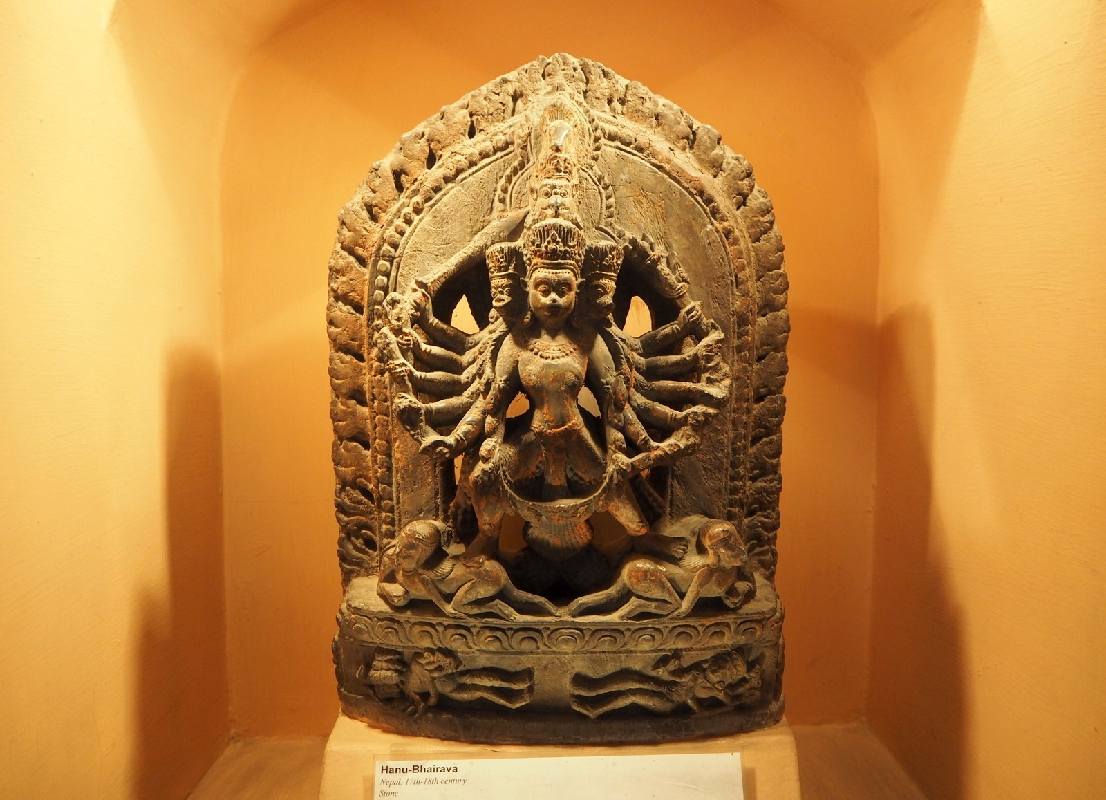 Nepal Patan museo
