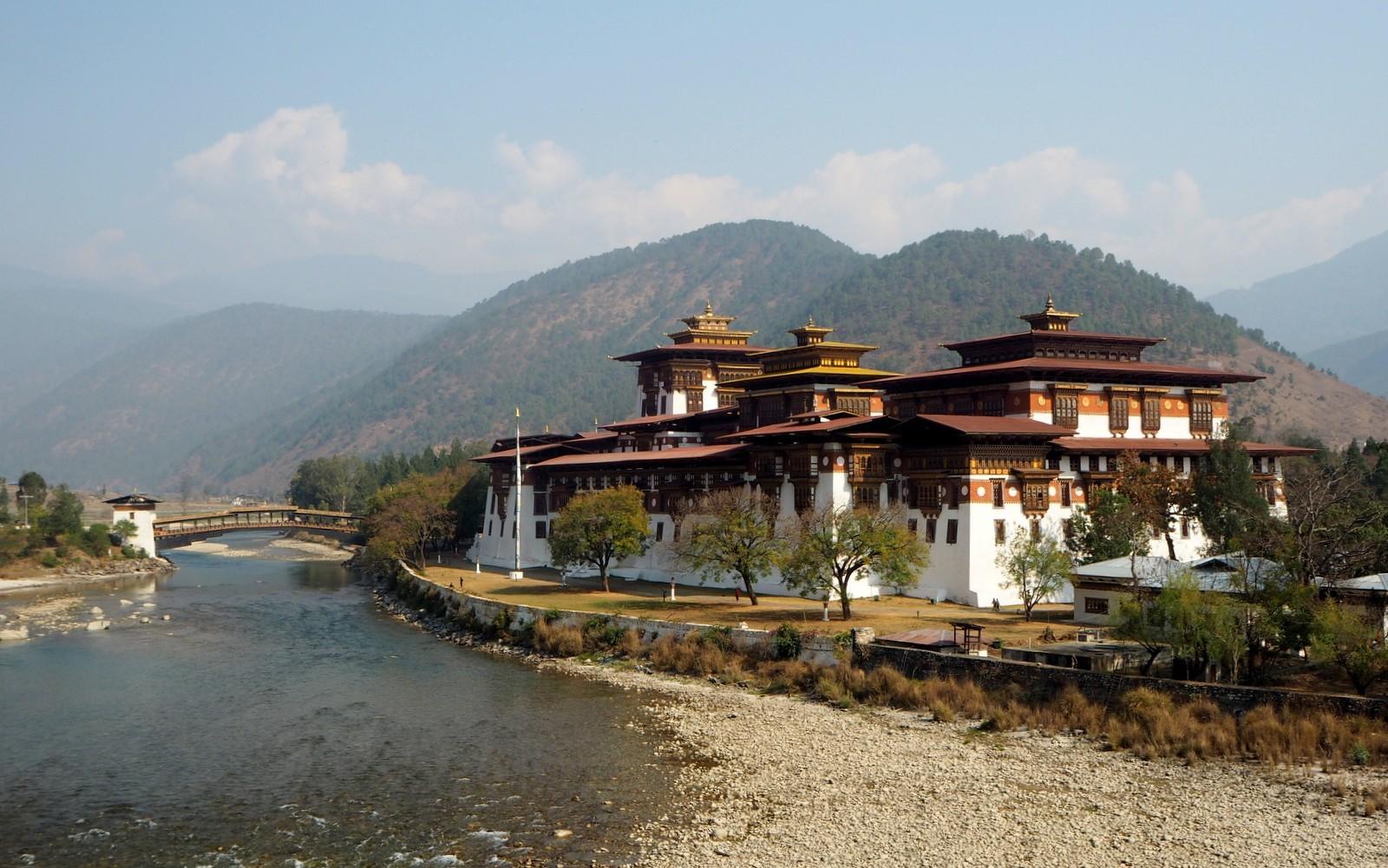 Punakha dzongi