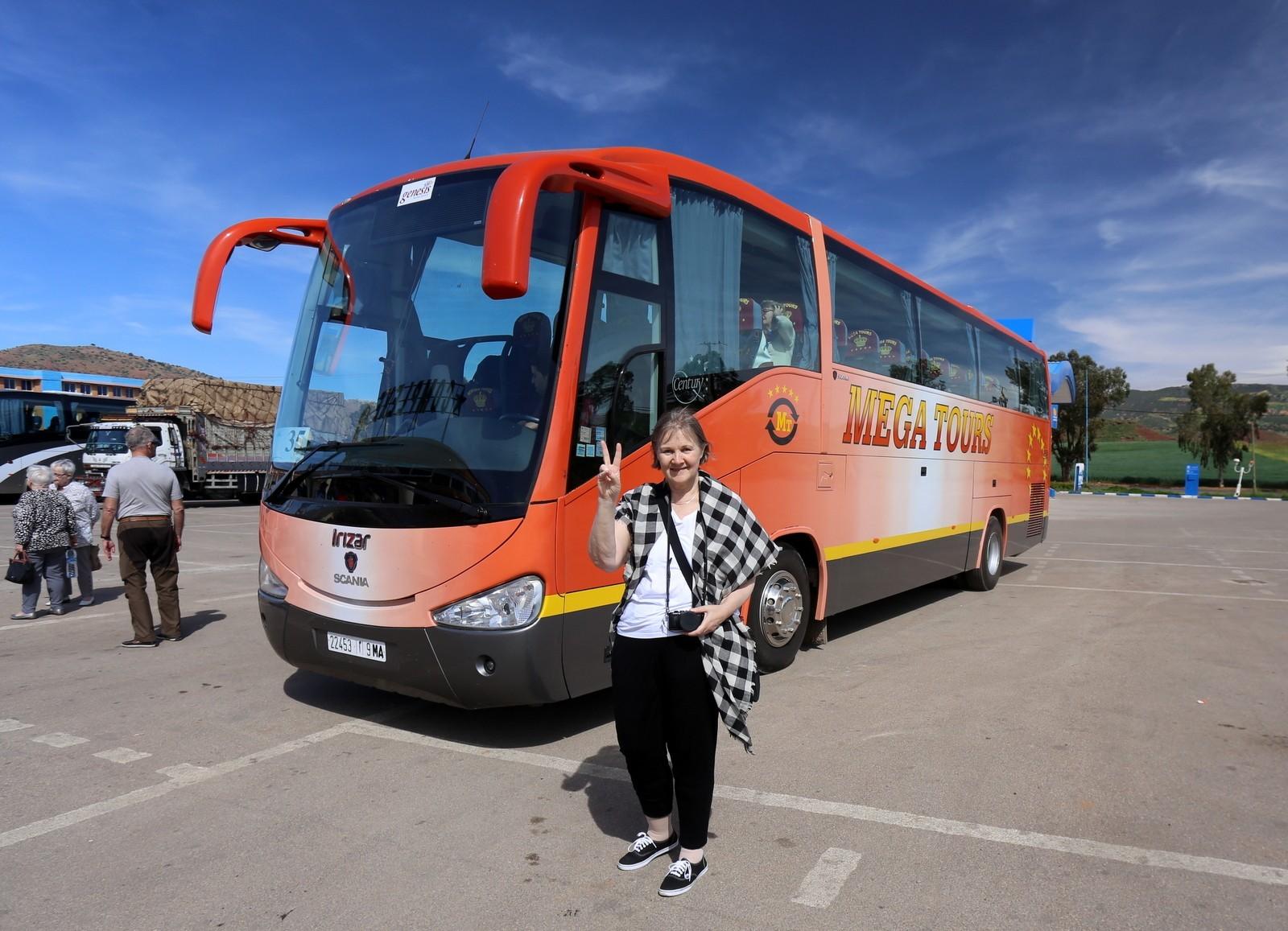 TSS-bussi Marokossa