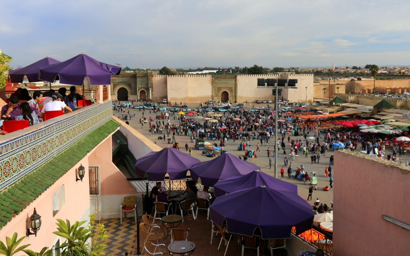 Meknes El Hedim Square