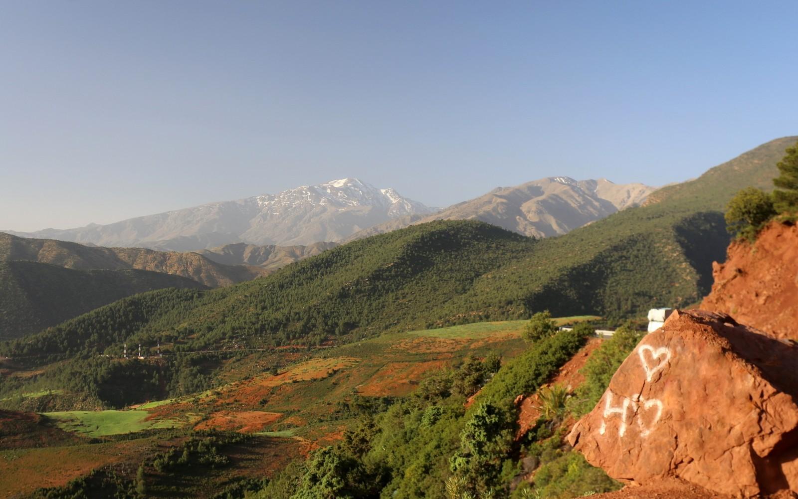 Atlasvuoret Marokko Morocco