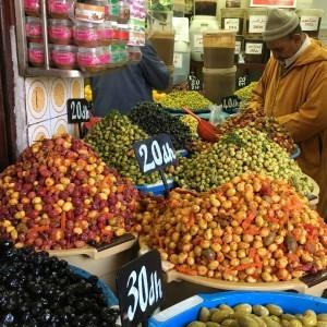 Casablanca olive market